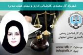 شهرزاد گل محمدی – کارشناس اداری و منشی هیئت مدیره