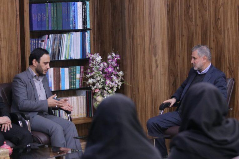 دیدار جناب آقای دکتر بهادری با ریاست محترم دادگستری کل استان اصفهان