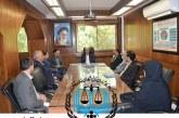 دیدار با مدیر محترم امور شعب بانک سپه استان اصفهان