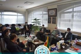 دیدار با  مدیرکل اداره تعاون،کار و رفاه اجتماعی شهرستان اصفهان