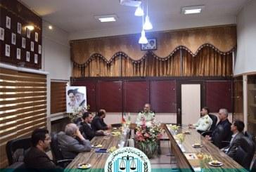 دیدار با ریاست کل نیروی انتظامی استان اصفهان